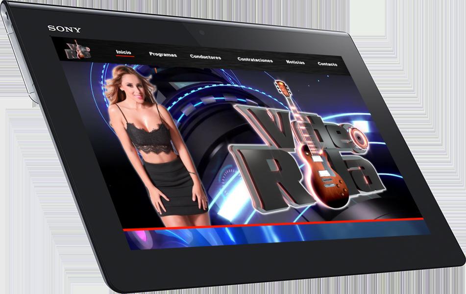 desarrollo sitios web para tablets